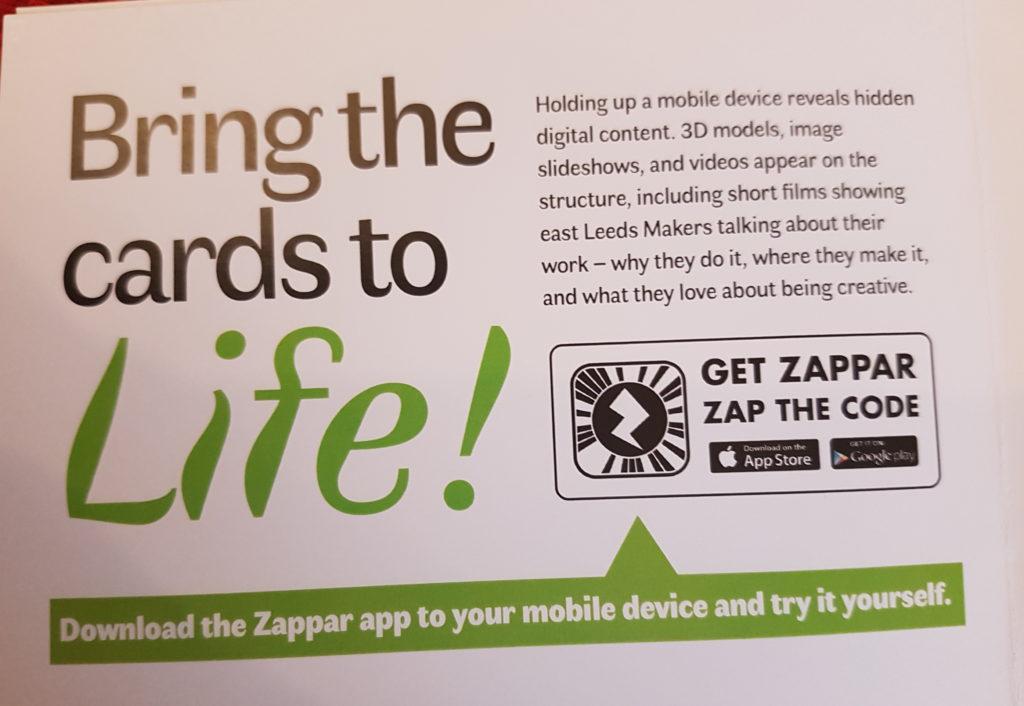Zappar Instructions