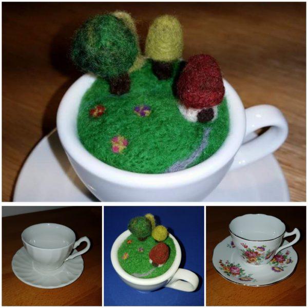 Scene in a teacup